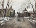 At the City Toll Gate (Victor Forssell) - Nationalmuseum - 20432.tif