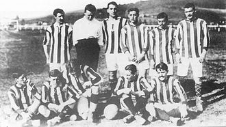 Athletic Bilbao - The team which won the 1911 Copa del Rey
