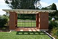 Atherton War Cemetery (2008) shelter.jpg