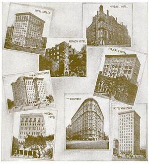 Architecture of Atlanta - Hotel architecture, 1916