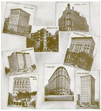 Architecture of Atlanta - Hotel architecture, 1916