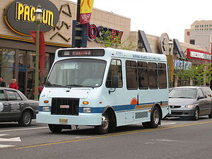 Dollar van - An Atlantic City jitney