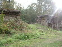 Atlantic Wall Training, Hankley Common, Large Breech.JPG