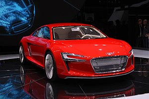 "world premiere of the electric car ""Audi ..."