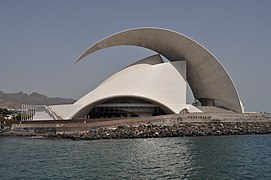 Auditorio de Tenerife (sea side).JPG