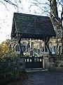 Aughton Parish Church, St Michael, Lych Gate - geograph.org.uk - 1575239.jpg