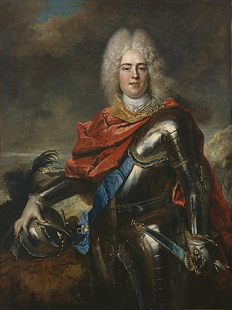Augustus III of Poland - Augustus, aged 19 years in 1715 by Nicolas de Largillière