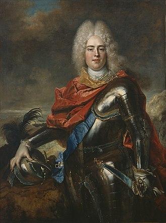 Augustus III of Poland - Augustus, aged 19 years in 1715 by Nicolas de Largillière
