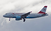 OE-LDC - A319 - Austrian Airlines