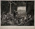 Austro-German War; the Prussian King William I, visiting, an Wellcome V0015795.jpg