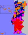 Autárquicas portuguesas de 1979 (Mapa Câmara).png
