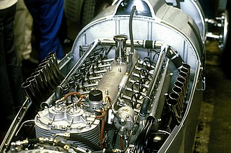 V16 engine - Auto Union V16 engine