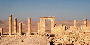 Avdat - Temple of Oboda