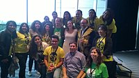 Avner and Darya's wiki Wedding at Wikimania by ovedc 03.jpg