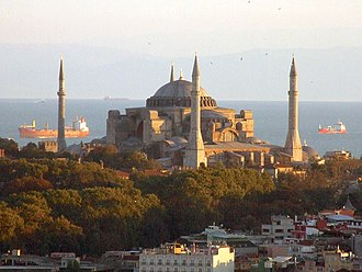 East–West Schism - Hagia Sophia, cathedral of Constantinople at the time of the schism