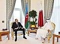 Azerbaijani President, Emir of Qatar had one-on-one meeting, 2017 02.jpg