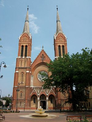 Békéscsaba - Saint Anthony of Padua Cathedral