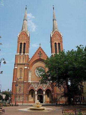 Békéscsaba - Saint Anthony of Padua Cathedral
