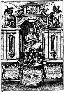 Architectura curiosa nova, 1701 (Quelle: Wikimedia)