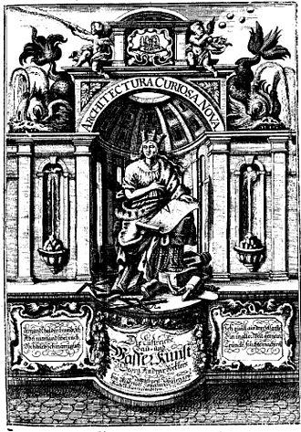 Georg Andreas Böckler - Architectura curiosa nova, 1701