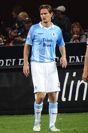 Kai Bülow - Bülow playing for TSV 1860 München in 2013