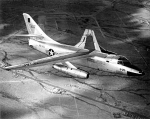 Douglas B-66 Destroyer - A Douglas B-66B (53-506) in flight