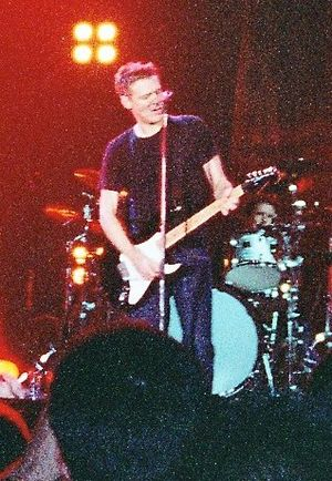 "Reckless (Bryan Adams album) - Adams playing ""Summer of '69"" live in Dublin, Ireland."