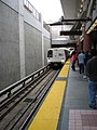 BART train at Colma station, June 2006.jpg