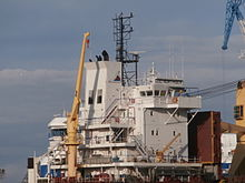 BBC Northsea Superstructure Paljassaare Shipyard Tallinn 7 November 2013.JPG