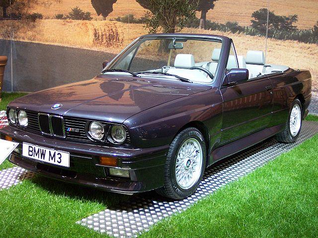 BMW M3 Cabrio (E30)