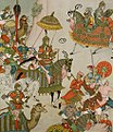 Babur setting out with his army.jpg