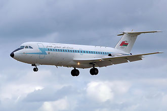 Royal Air Force of Oman - Royal Air Force of Oman BAC 1-11 Model 485GD at RIAT 2008, UK