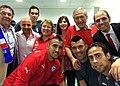 Bachelet asiste al primer partido de la Selección chilena contra Australia.jpg
