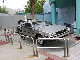 Back to the Future: The Ride - Image: Back to the Future De Lorean Universal Studios Florida
