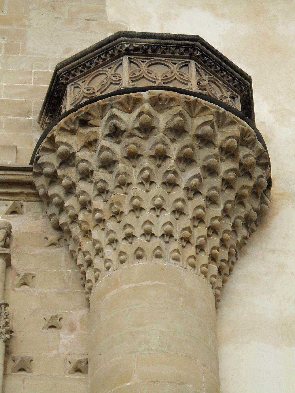 Detalle Fachada  Palacio de Jabalquinto. Baeza