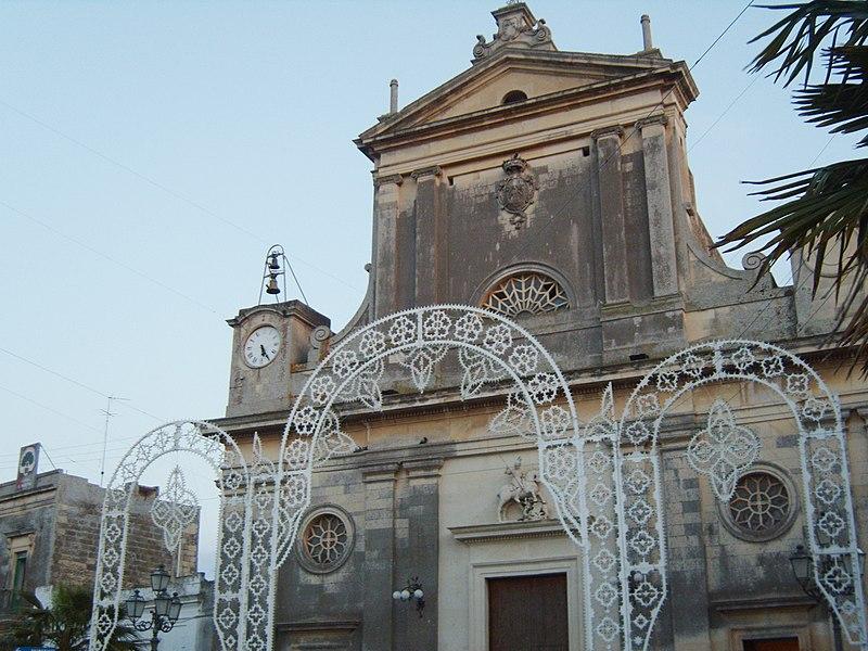 File:Bagnolo del Salento chiesa di San Giorgio.JPG