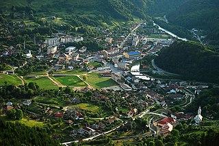 Baia de Arieș Town in Alba, Romania