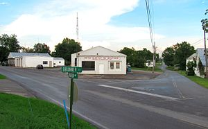 Baileyton, Tennessee - Intersection of Brunner Street and Horton Highway