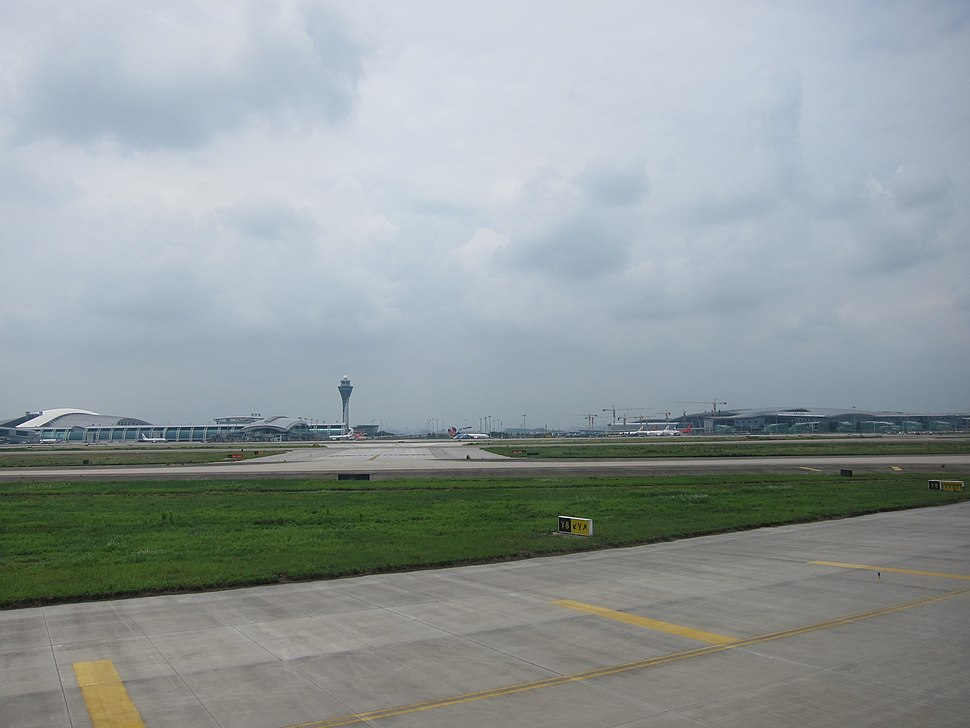 Baiyun Airport T1 and T2