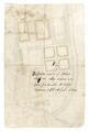 Baksidan av byggnadsritning, 1650 - Skoklosters slott - 98999.tif