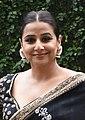 Balan snapped promoting her film Mission Mangal.jpg