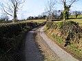 Ballybrolly Road, Tanderagee - geograph.org.uk - 1764421.jpg
