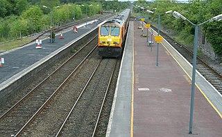 Ballybrophy railway station Railway station in Ballybrophy, Ireland
