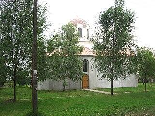 Banatsko Višnjićevo Village in Vojvodina, Serbia