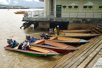 Kampong Ayer - 'Water taxis' of Kampong Ayer