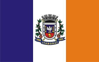 Itaboraí - Image: Bandeira de Itaboraí