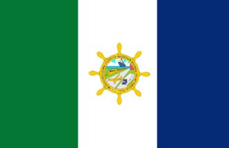 Puerto Barrios - Image: Bandera Puerto Barrios