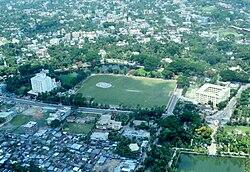 Luftbild von Barishal