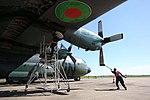 Bangladesh Air Force Lockheed Hercules at Bunia Airport, DRC.jpg