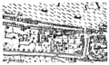 Bankside - the Bear Garden and the Rose Theatre - Norden's Map of London, 1593.png